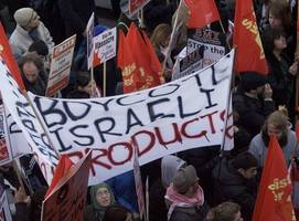 renewed global boycotts put israel on defensive